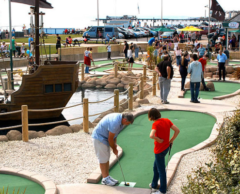 Crazy Golf Hastings