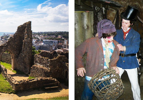 Hastings Castle and Smugglers Adventure